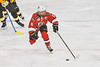 Baldwinsville Bees Michael Carni (6) skating with the puck against the Ontario Storm in NYSPHSAA Section III Boys Ice hockey action at Haldane Memorial Arena in Pulaski, New York on Thursday, December 20, 2018. Baldwinsville won 12-0.