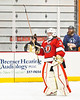 Baldwinsville Bees goalie Tommy Blais (31) being introduced before playing the Rome Free Academy Black Knights in a NYSPHSAA Section III Boys Ice hockey playoff game at John F. Kennedy Civic Arena in Rome, New York on Friday, February 15, 2019.