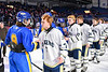 Skaneateles Lakers played the Cortland-Homer Golden Eagles in the Section III, Division II Boys Ice Hockey Championship game at the War Memorial Arena in Syracuse, New York on Monday, February 25, 2019.  Skaneateles Lakers won 4-1.