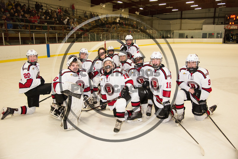 Baldwinsville Bees Boys Ice Hockey Senior Night at the Lysander Ice Arena in Baldwinsville, New York on Tuesday, February 5, 2019.