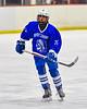 Whitesboro Warriors Noah Scranton (25) playing against the Baldwinsville Bees in NYSPHSAA Section III Boys Ice Hockey action at the Lysander Ice Arena in Baldwinsville, New York on Friday, December 13, 2019. Whitesboro won 3-1.