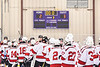 Baldwinsville Bees drop a non-league game to the Ithaca Little Red in NYSPHSAA Section III Boys Ice Hockey action at the Lysander Ice Arena in Baldwinsville, New York on Tuesday, January 14, 2020. Ithaca won 3-2.