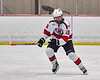 Baldwinsville Bees Zach Cole (15) on the ice against the Cicero-North Syracuse Northstars in NYSPHSAA Section III Boys Ice Hockey action at the Lysander Ice Arena in Baldwinsville, New York on Tuesday, January 21, 2020. Baldwinsville won 7-0.