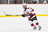 Baldwinsville Bees Colin Bourque (3) on the ice against the Cazenovia Lakers in NYSPHSAA Section III Boys Ice Hockey action at the Lysander Ice Arena in Baldwinsville, New York on Friday, January 31, 2020. Baldwinsville won 8-1.