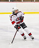 Baldwinsville Bees Zach Treichler (7) on the ice against the Cazenovia Lakers in NYSPHSAA Section III Boys Ice Hockey action at the Lysander Ice Arena in Baldwinsville, New York on Friday, January 31, 2020. Baldwinsville won 8-1.