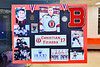 Christian Ficarra (17) poster on display for Baldwinsville Bees Boys Hockey Senior Night at the Lysander Ice Arena in Baldwinsville, New York on Tuesday, February 4, 2020.