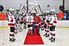 Baldwinsville Bees Christian Ficarra (17) on Senior Night at the Lysander Ice Arena in Baldwinsville, New York on Tuesday, February 4, 2020.