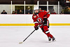 Baldwinsville Bees Nick Purdy (10) playing against the Syracuse Cougars in NYSPHSAA Section III Boys Ice hockey action at Meachem Ice Rink in Syracuse, New York on Thursday, February 13, 2020. Syracuse won 4-0.