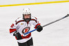 Baldwinsville Bees Keegan Lynch (2) on the ice against the Fulton Red Raiders in NYSPHSAA Section III Boys Ice Hockey action at the Lysander Ice Arena in Baldwinsville, New York on Thursday, February 20, 2020. Baldwinsville won 2-1.