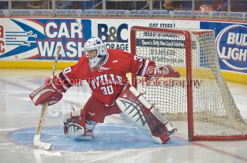 Baldwinsville Bees goalie Nick Leader was recently named to the 2008/2009 Section III Ice Hockey All-Star Second Team.