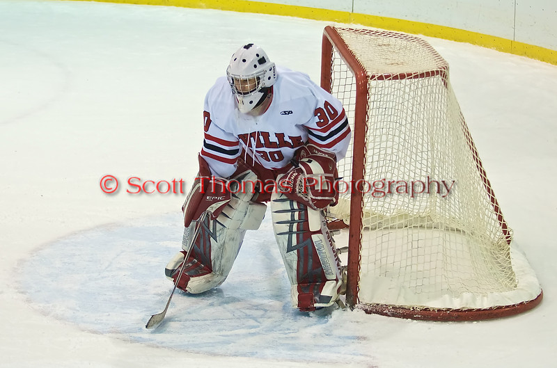 Baldwinsville Goaltender Nick Leader