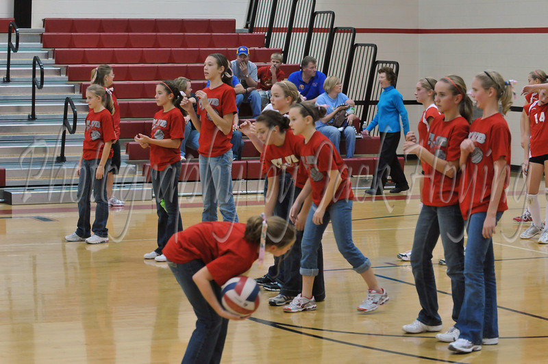 Loramie JH Volleyball