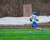 Cazenovia Lakers Alex Hunt (22) shoots and scores against the Baldwinsville Bees in Boys Lacrosse on Saturday, April 5, 2015 at Cazenovia, New York. Cazenovia won 13-5.