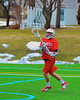 Baldwinsville Bees Sean Barron (11) passes the ball against the Cazenovia Lakers in Boys Lacrosse on Saturday, April 5, 2015 at Cazenovia, New York. Cazenovia won 13-5.