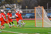 Baldwinsville Bees visited Liverpool Warriors in Boys Lacrosse on Tuesday, April 29, 2014 at Liverpool, New York, Liverpool won 14-13 in overtime.