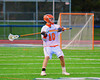 Liverpool Warriors Dante Dewane (10) looking to make a pass against the Baldwinsville Bees in Boys Lacrosse on Tuesday, April 29, 2014 at Liverpool, New York, Liverpool won 14-13 in overtime.