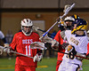 Baldwinsville Bees visited the West Genesee Wildcats in Boys Lacrosse on Tuesday, April 8, 2014 at Camillus, New York. West Genesee won 8-5.