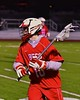 Baldwinsville Bees Dillon Darcangelo (10) with the ball against the West Genesee Wildcats in Section III Boys Lacrosse action at Nottingham High School in Syracuse, New York on Tuesday, March 31, 2015. West Genesee won 14-8.