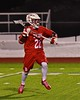 Baldwinsville Bees Jake Anderson (22) cradling the ball against the West Genesee Wildcats in Section III Boys Lacrosse action at Nottingham High School in Syracuse, New York on Tuesday, March 31, 2015. West Genesee won 14-8.