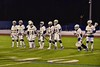 West Genesee Wildcats players being introduced before playing the Baldwinsville Bees in Section III Boys Lacrosse action at Nottingham High School in Syracuse, New York on Tuesday, March 31, 2015.