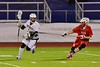 Baldwinsville Bees visited the West Genesee Wildcats in Section III Boys Lacrosse action at Nottingham High School in Syracuse, New York on Tuesday, March 31, 2015. West Genesee won 14-8.