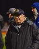 West Genesee Wildcats Head Coach Mike Messier on the sidelines against the Baldwinsville Bees in Section III Boys Lacrosse action at Nottingham High School in Syracuse, New York on Tuesday, March 31, 2015. West Genesee won 14-8.