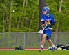 Cazenovia Lakers PJ Brown (10) shoots and scores a goal against the Baldwinsville Bees in Section III Boys Lacrosse action at the Pelcher-Arcaro Stadium in Baldwinsville, New York on Saturday, May 9, 2015.  Cazenovia won 13-6.