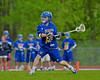Baldwinsville Bees hosted the Cazenovia Lakers in Section III Boys Lacrosse action at the Pelcher-Arcaro Stadium in Baldwinsville, New York on Saturday, May 9, 2015.  Cazenovia won 13-6.