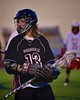 Syracuse Cougars Sean Eccles (13) playing against the Baldwinsville Bees in Section III Boys Lacrosse Quarter Final Playoff action at the Pelcher-Arcaro Stadium in Baldwinsville, New York on Wednesday, May 20, 2015. Syracuse won 12-9.