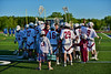Auburn Maroons hosted the Syracuse Cougars in Section III Boys Lacrosse Semi-Final game at the Michael J. Bragman Stadium in Cicero, New York on Saturday, May 23, 2015.  Auburn won 14-6.