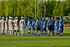 West Genesee Wildcats hosted the Cicero-North Syracuse Northstars in a Section III Boys Lacrosse Semi-Final game at the Michael J. Bragman Stadium in Cicero, New York on Saturday, May 23, 2015.