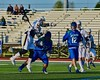 West Genesee Wildcats hosted the Cicero-North Syracuse Northstars in a Section III Boys Lacrosse Semi-Final game at the Michael J. Bragman Stadium in Cicero, New York on Saturday, May 23, 2015.  West Genesee won 13-3.