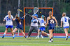 West Genesee Wildcats Abby Collins (3) scores the game winning goal against the Cicero-North Syracuse Northstars in Section III Girls Lacrosse action at Bragman Stadium in Cicero, New York on Thursday, May 5, 2016.  West Genesee won 9-5.
