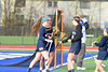 Cicero-North Syracuse Northstars hosted the West Genesee Wildcats in Section III Girls Lacrosse action at Bragman Stadium in Cicero, New York on Thursday, May 5, 2016.  West Genesee won 9-5.