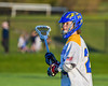 Cazenovia Lakers Cole Willard (24) playing against the Baldwinsville Bees in Section III Boys Lacrosse action at the Sean M. Googin Memorial Sports Complex in Cazenovia, New York on Tuesday, May 10, 2016.  Cazenovia won 10-8.