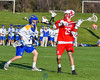 Baldwinsville Bees Brandon Kohutanich (25) plaing against the Cazenovia Lakers in Section III Boys Lacrosse action at the Sean M. Googin Memorial Sports Complex in Cazenovia, New York on Tuesday, May 10, 2016.  Cazenovia won 10-8.