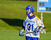 Cazenovia Lakers Derek White (31) with the ball against the Baldwinsville Bees in Section III Boys Lacrosse action at the Sean M. Googin Memorial Sports Complex in Cazenovia, New York on Tuesday, May 10, 2016.  Cazenovia won 10-8.