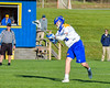 Cazenovia Lakers Thomas Bragg (9) shoots and scores against the Baldwinsville Bees in Section III Boys Lacrosse action at the Sean M. Googin Memorial Sports Complex in Cazenovia, New York on Tuesday, May 10, 2016.  Cazenovia won 10-8.