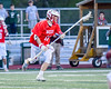Baldwinsville Bees Patrick Delpha (11) with the ball against the Fayetteville-Manlius Hornets in Section III Boys Lacrosse action at the Fayetteville-Manlius High School in Manlius, New York on Wednesday, May 18, 2016.  Fayetteville-Manlius won 9-8.