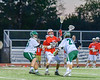 Baldwinsville Bees visited the Fayetteville-Manlius Hornets in Section III Boys Lacrosse action at the Fayetteville-Manlius High School in Manlius, New York on Wednesday, May 18, 2016.  Fayetteville-Manlius won 9-8.