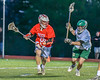 Baldwinsville Bees Connor Smith (26) with the ball against the Fayetteville-Manlius Hornets in Section III Boys Lacrosse action at the Fayetteville-Manlius High School in Manlius, New York on Wednesday, May 18, 2016.  Fayetteville-Manlius won 9-8.