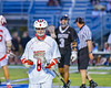 Baldwinsville Bees Greg Norton (8) playing against the Syracuse Cougars in Section III Boys Lacrosse Semi-Finals action at the Bragman Stadium in Cicero, New York on Thursday, May 26, 2016.  Baldwinsville won 16-5.