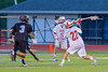 Baldwinsville Bees Mitch Warren (22) winds up for a shot at the Syracuse Cougars net in Section III Boys Lacrosse Semi-Finals action at the Bragman Stadium in Cicero, New York on Thursday, May 26, 2016.  Baldwinsville won 16-5.