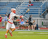 Baldwinsville Bees Matt Dickman (23) passing the ball against the Syracuse Cougars in Section III Boys Lacrosse Semi-Finals action at the Bragman Stadium in Cicero, New York on Thursday, May 26, 2016.  Baldwinsville won 16-5.