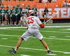 Baldwinsville Bees Brandon Kohutanich (25) winds up for a shot at the Fayetteville-Manlius Hornets net in Section III Boys Lacrosse Championship action at the Carrier Dome in Syracuse, New York on Saturday, May 28, 2016.  Fayetteville-Manlius won 8-7.