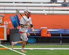 Baldwinsville Bees Kyle Pelcher (29) bringing the ball up against the Fayetteville-Manlius Hornets in Section III Boys Lacrosse Championship action at the Carrier Dome in Syracuse, New York on Saturday, May 28, 2016.  Fayetteville-Manlius won 8-7.