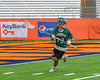 Fayetteville-Manlius Hornets Tommy Angelicola (13) looking to make a play against the Baldwinsville Bees in Section III Boys Lacrosse Championship action at the Carrier Dome in Syracuse, New York on Saturday, May 28, 2016.  Fayetteville-Manlius won 8-7.