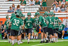 Fayetteville-Manlius Hornets Donovan Welsh (4) being introduced before playing the Baldwinsville Bees in the  Section III Class A Boys Lacrosse Championship game at the Carrier Dome in Syracuse, New York on Saturday, May 28, 2016.