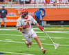 Jamesville-Dewitt Red Rams Sam Mueller (1) with the ball against the Auburn Maroons in Section III Boys Class B Lacrosse Championship action at the Carrier Dome in Syracuse, New York on Saturday, May 28, 2016.  Jamesville-Dewitt won 15-7.
