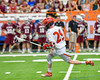 Jamesville-Dewitt Red Rams Jack Mulvihill (29) running with the ball against the Auburn Maroons in Section III Boys Class B Lacrosse Championship action at the Carrier Dome in Syracuse, New York on Saturday, May 28, 2016.  Jamesville-Dewitt won 15-7.